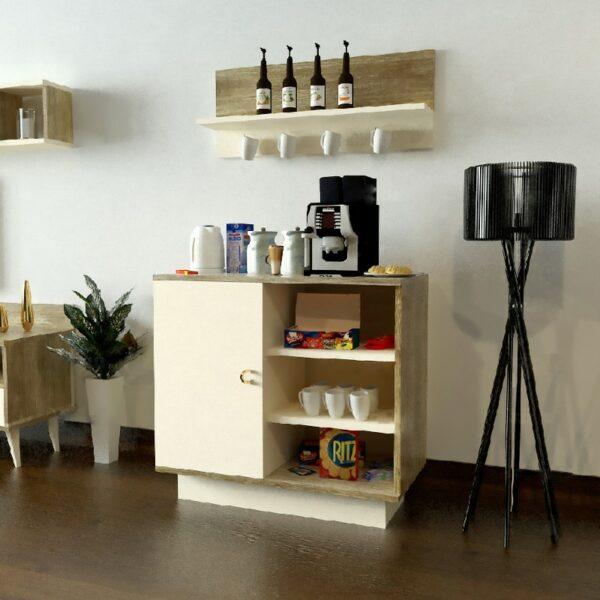 طقم طاولات تلفزيون و قهوة و ركن قهوة 0113