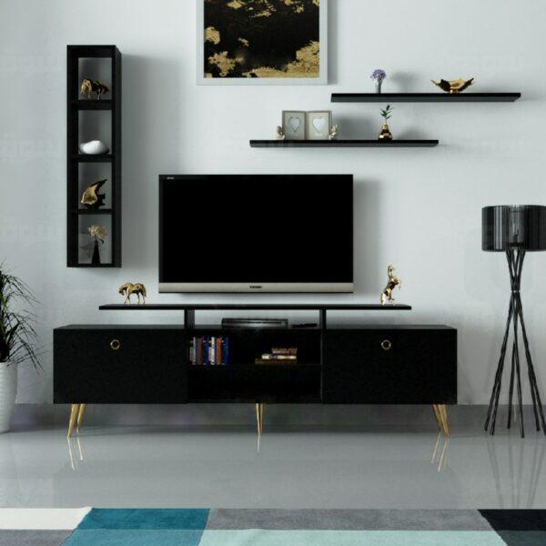 طاولة تلفزيون لون أسود 99