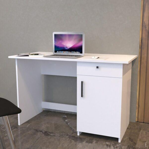مكتب عصري لون أبيض 089